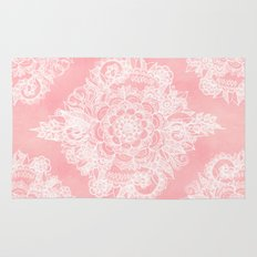 Marshmallow Lace Rug