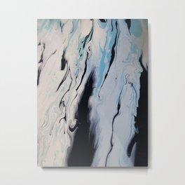 Arctic Wash Metal Print