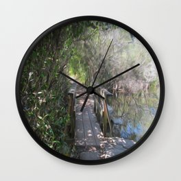 What's on the Other Side? Wall Clock