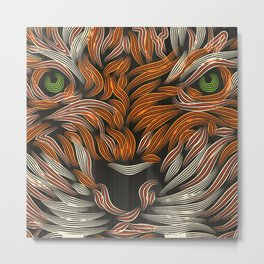TIGER LILLY color Metal Print