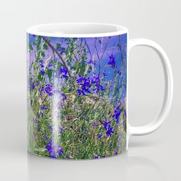Nature Blue And Green Water Reflection Coffee Mug