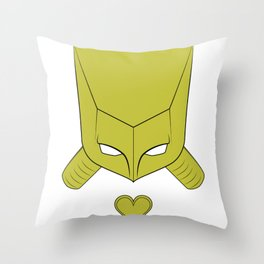 Za Warudo Throw Pillow