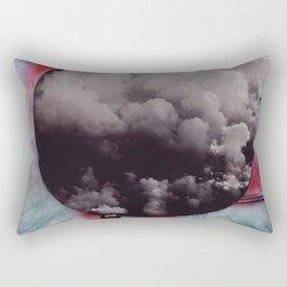 Clouded Judgment Rectangular Pillow