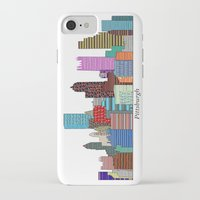 pittsburgh iPhone & iPod Cases featuring Pittsburgh by bri.buckley