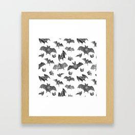 Batty Bats Framed Art Print