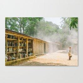 POTTERY DREAMLAND Canvas Print