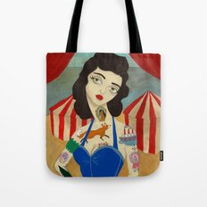 Tattooed Lady Tote Bag