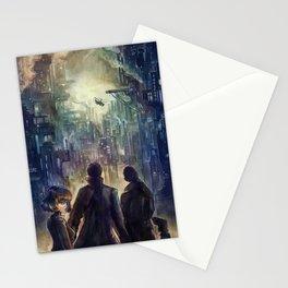 Dark district Stationery Cards