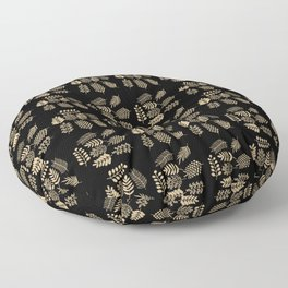 Pattern with branches Floor Pillow