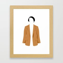 Carl's jacket Framed Art Print