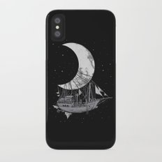 Moon Ship iPhone X Slim Case