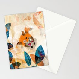 The Raven nad the Fox Stationery Cards
