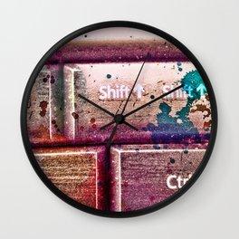 art and technology Wall Clock