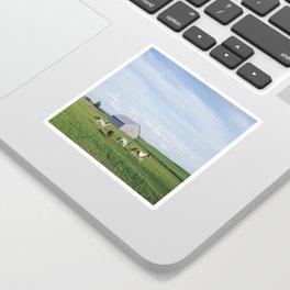 Farm Horses Sticker