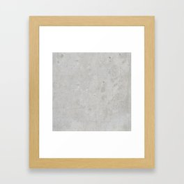 Concrete 03 Framed Art Print