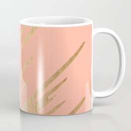 Sweet Life Swish Peach Coral + Orange Sherbet Coffee Mug