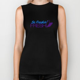 So Freakin' Fresh v7 HQvector Biker Tank