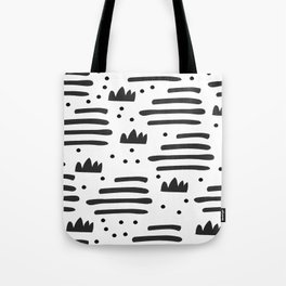 Abstract scandinavian art Tote Bag