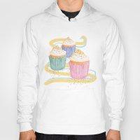 sprinkles Hoodies featuring Sprinkles by Hayley Bowerman Design