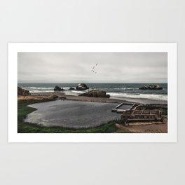 Sutro Baths Ruins Art Print