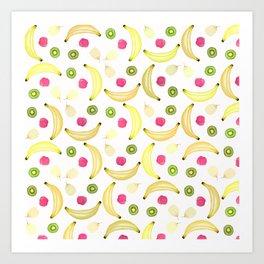 FRUITY DELICIOUS Art Print