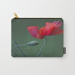 Red Poppy Dance #decor #society6 Carry-All Pouch