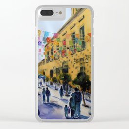 Tlaquepaque Clear iPhone Case