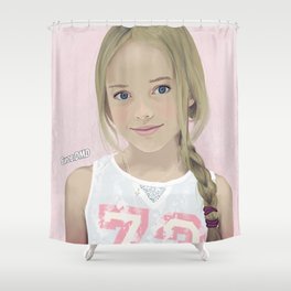 Kristina 73 Shower Curtain