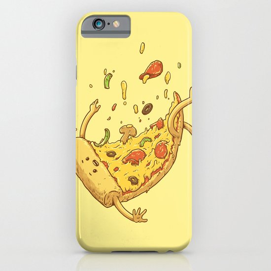 Pizza fall iPhone & iPod Case