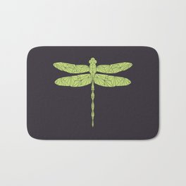 The dragonfly is not envoius Bath Mat