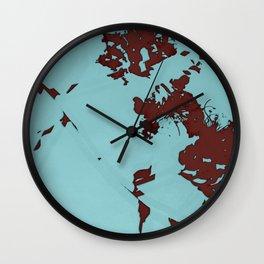 2020 Fall/Winter 08 Aquamarine Wall Clock