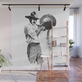 Gold digger Wall Mural