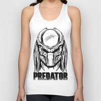 predator Tank Tops featuring Predator by OneAppleInBox