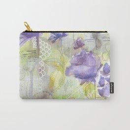 Color me Lavender Carry-All Pouch