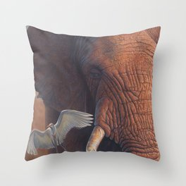 Nomad At Dusk Throw Pillow