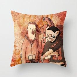 YOUNG WILD Throw Pillow