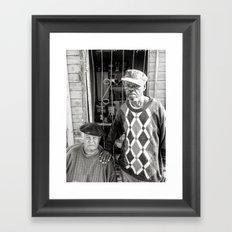 Makhulu and Tat'omkhulu Framed Art Print
