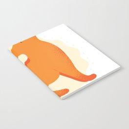 dog pet yoga  Notebook