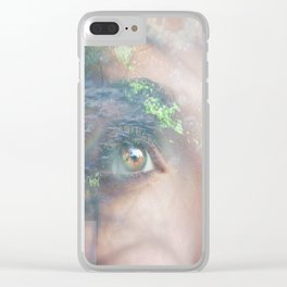 God bless... Clear iPhone Case