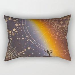 A sense of awareness Rectangular Pillow