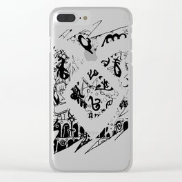 The Mortal Instruments Clear iPhone Case