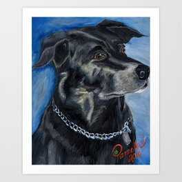 Labrador Love Art Print