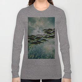 Fish shoal Long Sleeve T-shirt