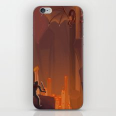 Into the Flames iPhone & iPod Skin