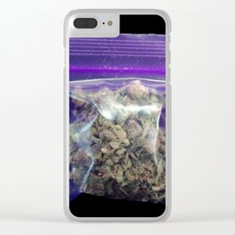 gram of cannabis Clear iPhone Case