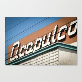 Acapulco Canvas Print