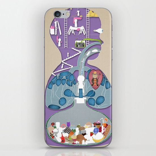 What a child thinks is inside of them iPhone & iPod Skin