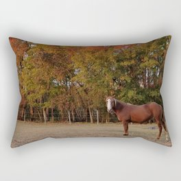 Where is My Horse Hay? Rectangular Pillow