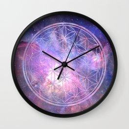 Sacred Geometry 9 Wall Clock