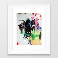 mod Framed Art Prints featuring MOD by Beka Lerner